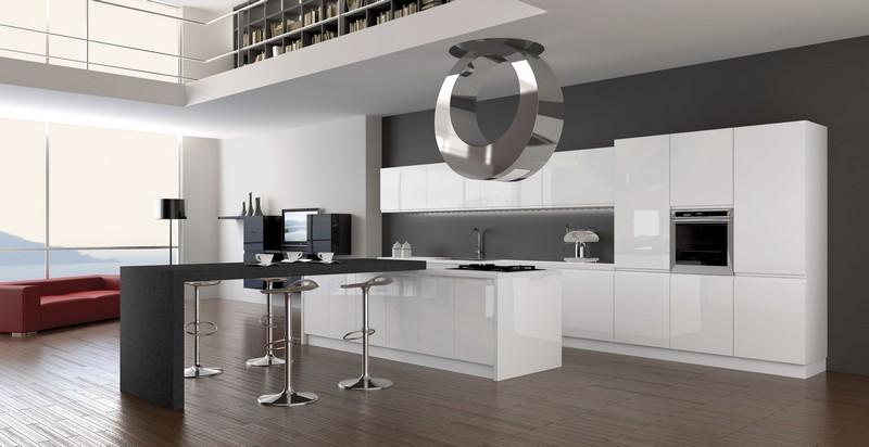 кухня в Hi-tech