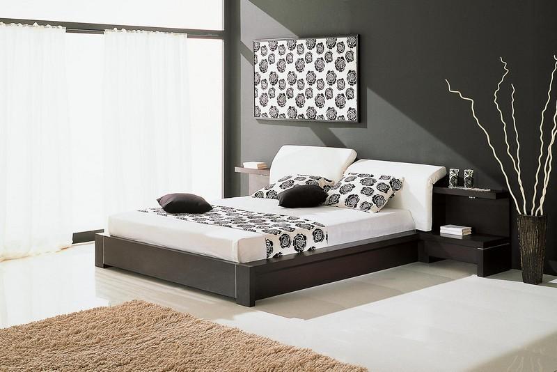 спальня в Hi-tech