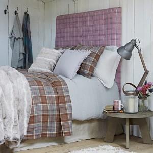 Спальня шотландского отеля