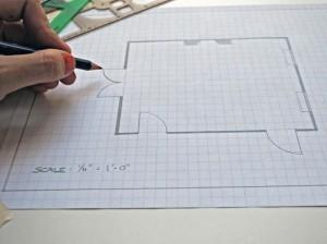 добавить местоположение и размер ваших дверей и окон