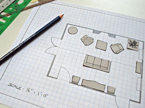 создание плана комнат