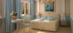 классическая спальня - дизайн