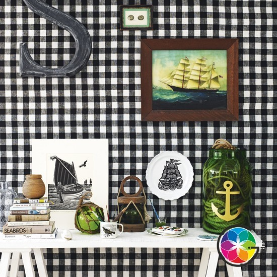 10 идей элементов дизайна гостиных, напоминающих о море!