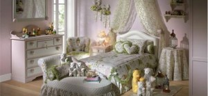 Романтический стиль дизайна интерьера