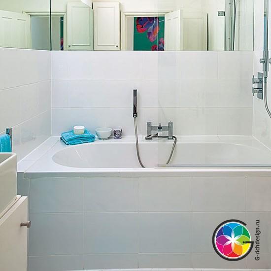 Интересные дизайны для небольших ванных комнат - 10 идей!