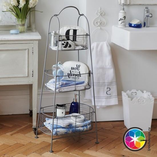 Идеи хранения в ванной - 10 лучших