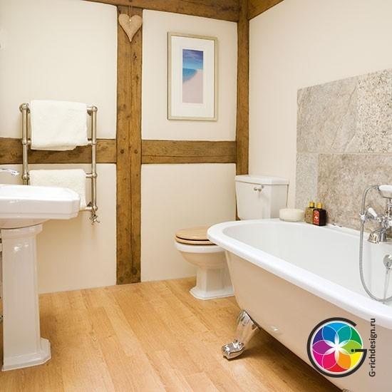 Традиционные ванные комнаты - 10 идей для Вас!