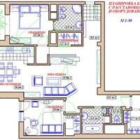 эскизный проект дизайна квартиры