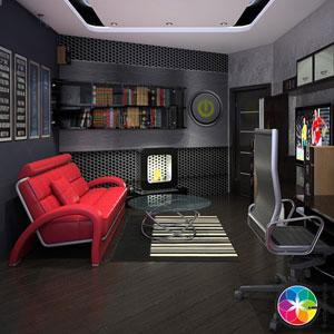 гостиная, стиль дизайна в квартире