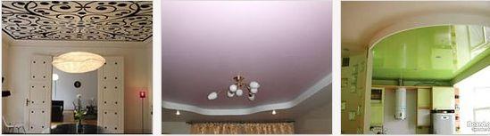 5 видов современного навесного потолка фото