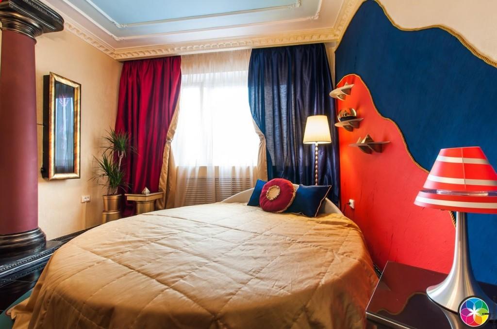 Общий вид комнаты дизайна