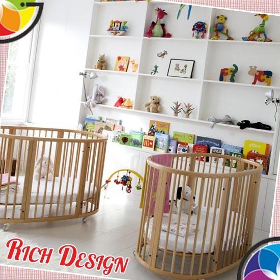дизайн детской на двоих детей