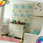 Детская комната с архитектурными обоями