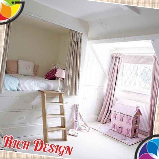 дизайн интерьера с детской мебелью
