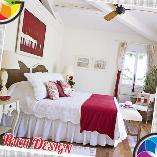 Яркая и светлая спальня