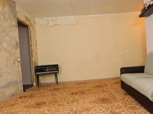 начальное состояние квартиры