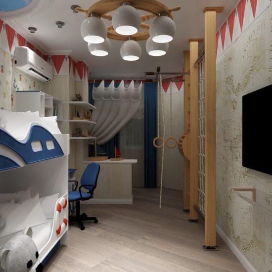 Детская комната в ЖК Парковый