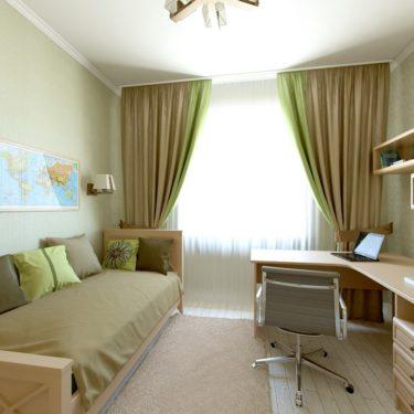 интерьер детской комнаты, поселок Львовский, Подольск
