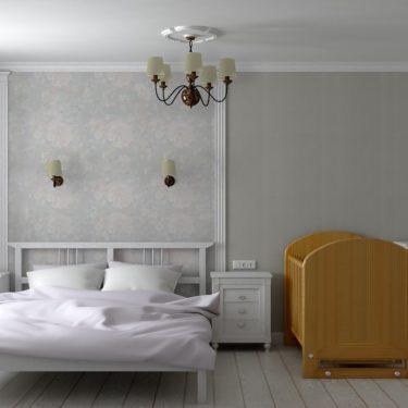 интерьер спальни, пос.Львовский
