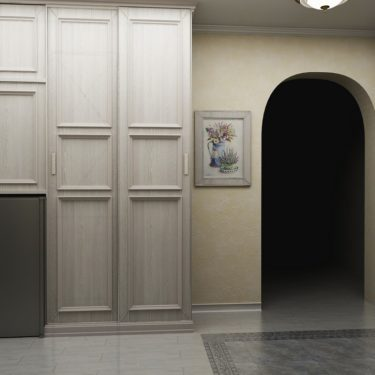 Прихожая комната на Мичуринском