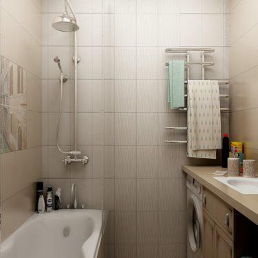 Дизайн ванной на Мичуринском