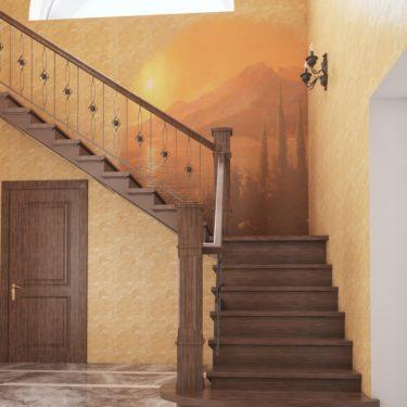 Дизайн интерьера прихожей в пос.Южная Бавария, Москва